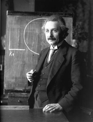 War Einstein Gläubig